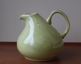 Russel Wright American Modern Chartreuse Pitcher, Steubenville, USA, Mid Century Modern