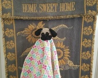 Pug Baby Security Blanket