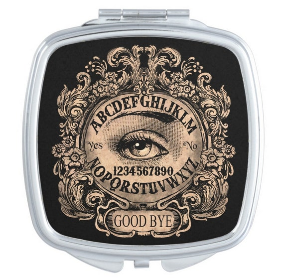 Mystic Eye Ouija Board Mirror Compact