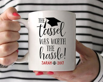 Lawyer Graduation Gift Lawyer College Graduation Gift Lawyer Gift Lawyer Mug Lawyer Grad Gift The Tassel Was Worth the Hassle