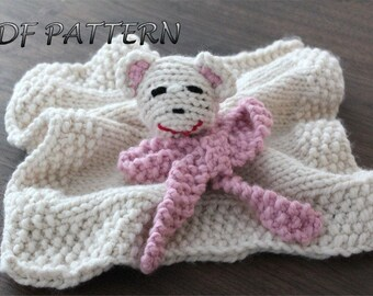 KNITTING Pattern Baby Doll Carrier knitting pattern PDF. DIY