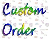 """Custom Listing for Forcedregistry ~ Four Stick Horses with Extra Long Sticks (48"""")."""