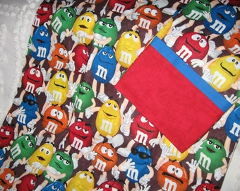 M & M Pillowcase set