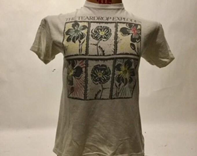 Vintage Teardrop Explodes (80's Hanes Tag) Tee Shirt (os-ts-74)