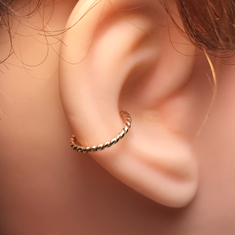 Conch Earring Helix Hoop Earring Rook Earring Septum
