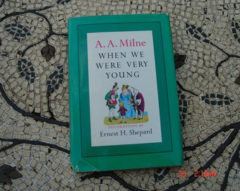 When We Were Very Young by A.A. Milne - Sweet