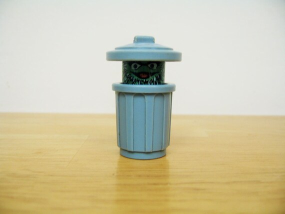 Vintage Fisher Price Sesame Street Oscar the Grouch