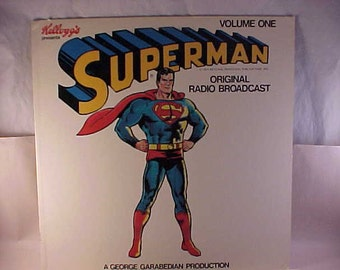 1974 Kellogg's Presents Superman - Mark 56 Records Original Radio Broadcasts Volume 1