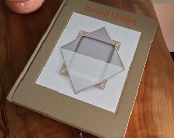 Donald Moffett Signed Art Book Sculpture Art