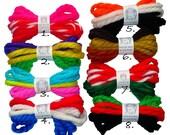 Easter Patriotic Holiday Bundles Vintage Yarn Hair Ribbons Ties Thanksgiving Christmas Kwanzaa Mardi Gras  Valentine's Day