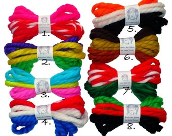 Christmas Kwanzaa Holiday Bundles Vintage Yarn Hair Ribbons Ties Valentine's Day Mardi Gras Easter Patriotic Easter Thanksgiving