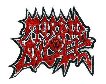 Morbid Angel Death Metal Patch Iron on Applique Alternative Clothing Heavy Music - YDS-PA-2429-PATCH