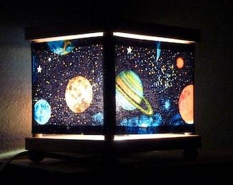 Space Night Light Planet Decor Nightlights