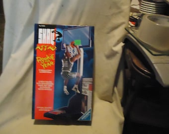 Vintage 1993 Shaq Attaq Rookie Of The Year Shaquille O'Neal Basketball Action Figure by Kenner In Sealed Box, collectable, nba