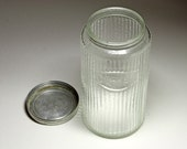 Vintage Hoosier Coffee Jar, Hoosier Coffee Canister - circa 1940's
