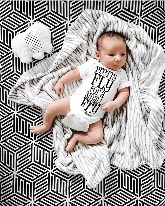 Crib Sheets Monochrome Baby Bedding Change Pad Cover Mini