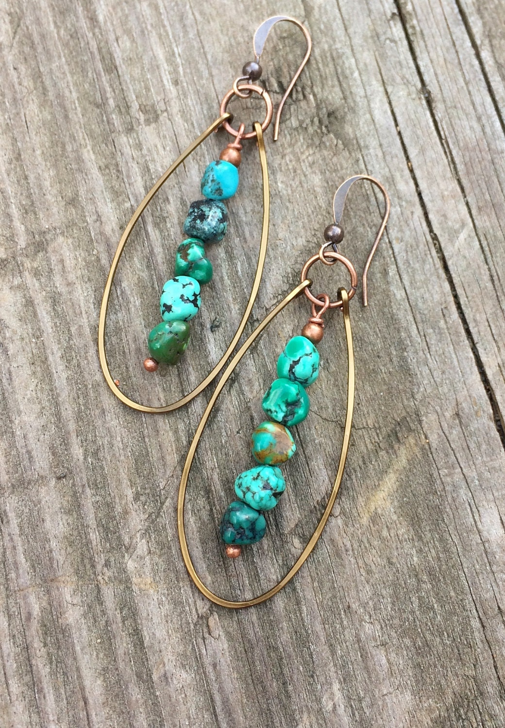 turquoise dangle earrings genuine turquoise jewelry. Black Bedroom Furniture Sets. Home Design Ideas