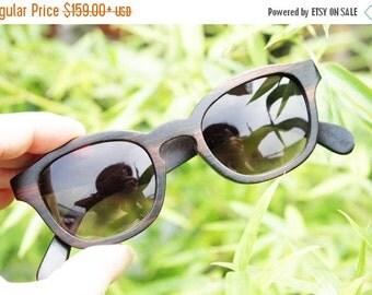 Christmas 30% OFF COVER-M handmade ebony wooden Takemoto prescription Rx customize  sunglasses
