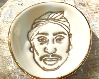 Tupac - Small porcelain dish