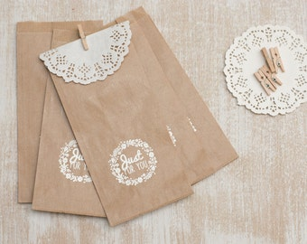 5  gifts paper bag set