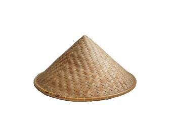 Asian Bamboo Hat