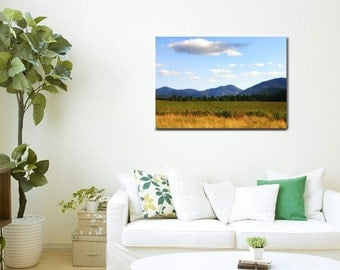 Metal Wall Art-Landscape Photography-Adirondack Photography-High Peaks-Mountain Photography-Fine Art Photography-Horizontal Wall Art-20x30