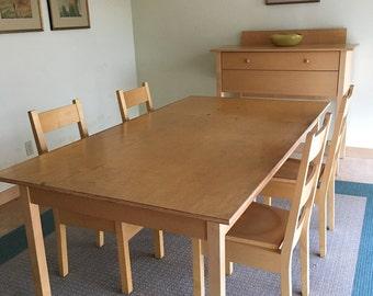 Roy McMakin dining set