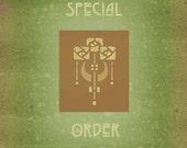 SPECIAL ORDER FOR omariijansen