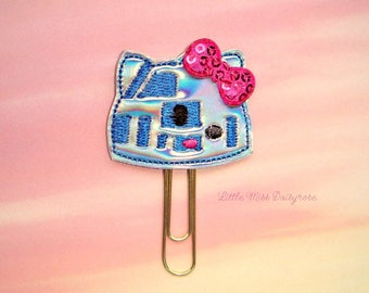 WARS KITTY ROBOT Planner Clip Paperclip