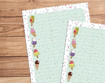Sprinkles - A5 Stationery - 12, 24 or 48 sheets