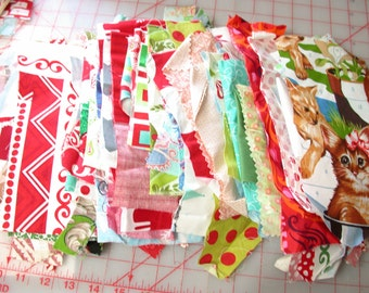 ONE pound of designer fabric scraps, lots of styles and sizes - Amy Butler Paganelli - Michael Miller Alexander Henry and MORE