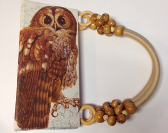 Owl Book Purse British Birds