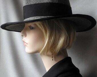 Wide brim Gray Hat