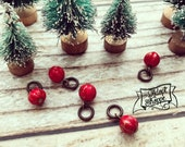 red add-on bead for #TheAdoptShoppeChristmasCollection necklaces
