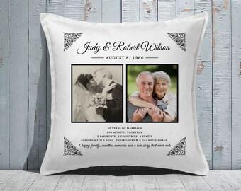 Custom Decorative Pillow | Throw Pillow | Custom Pillow | 20 x 20 Pillow Cover | Custom Pillow Cover | Personalized Pillow | anniversary