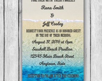 ocean wedding invitation,ocean wedding invitations,ocean wedding invites,ocean wedding invite, ocean wedding, ocean, invitations, invitation