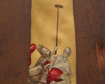 Ralph lauren Polo horsemen tie