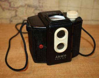 Vintage camera Kodak Brownie Holiday Ansco Panda - item #2481