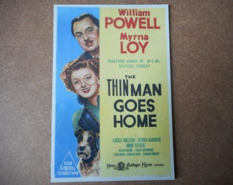 Magnet- The Thin Man Goes Home movie  William Powell Myrna Loy  Nick and Nora Charles Gloria Dehaven