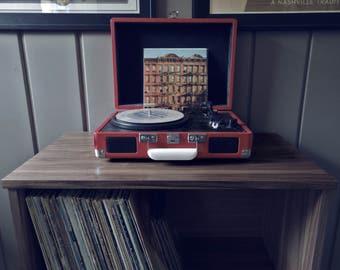 The Small Walnut Record Cabinet