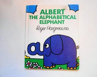 Albert the Alphabetical Elephant, a Vintage Children's ABC Book
