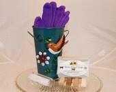 Gardener Gift, Gardening Gift, Flower Vase Gift , Flower Pot Set, Mothers Day Gift, Hostess Gift, Housewarming Gift, Thank You Gift
