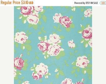 On Sale Chloe Rose Vine in Green by Tanya Whelan  - Half Yard