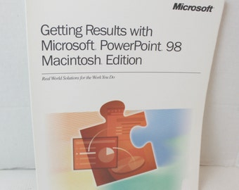 microsoft powerpoint 98 instruction book