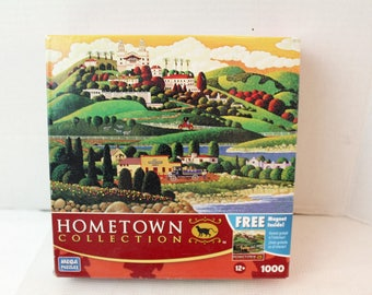 hometown collection jigsaw puzzle 1000 pc