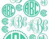 Easter gifts for kids, Easter gifts for adults, Easter gifts for girls, Easter gifts for teens, Easter basket stuffers, monogram decal set,