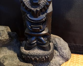 God of happiness made from Lava from Coco Joe's in Hawaii