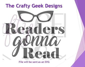 Readers Gonna Read SVG File