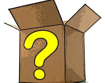 HUGE Craft Supplies Mystery Box Grab Bag SHIPS FREE!
