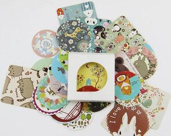 Kawaii Animal Stickers